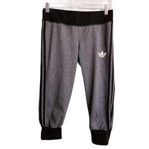 Adidas 3 Stripes Logo Capri Pants
